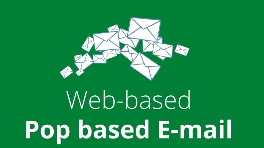 Pop based E-mail