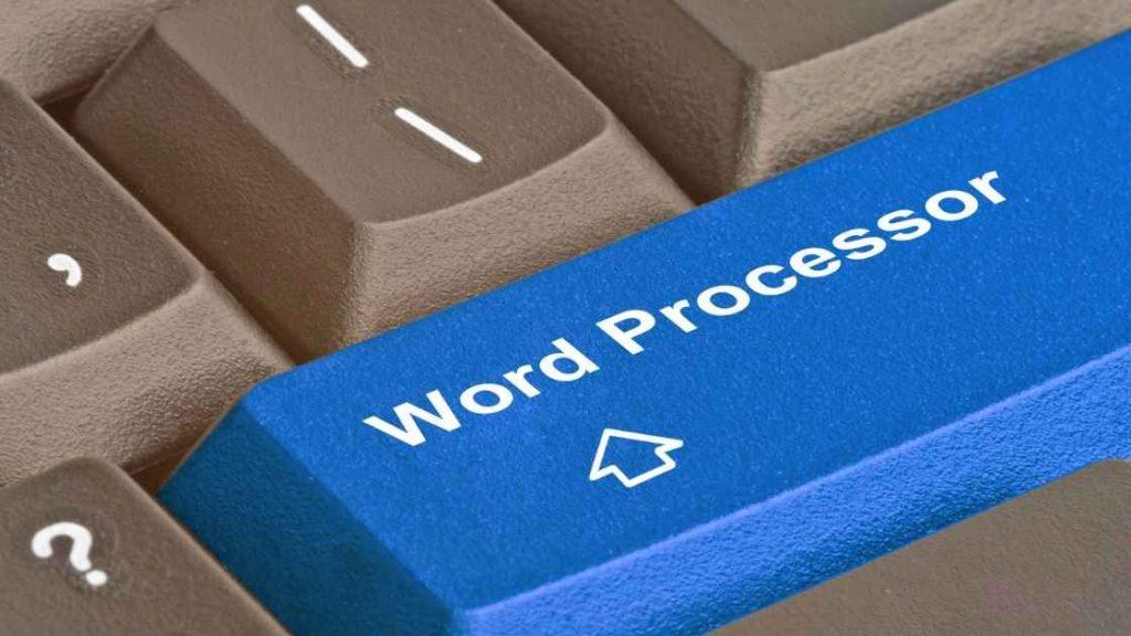 Word Processor और Text Editor में क्या अन्तर है?